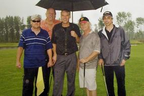 All Trades Contracting at Children's Wish Golf Tournament