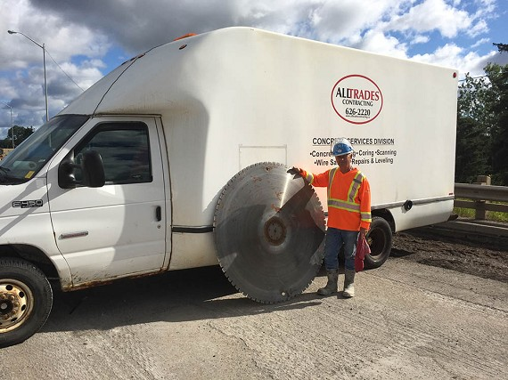 Concrete services Thunder Bay